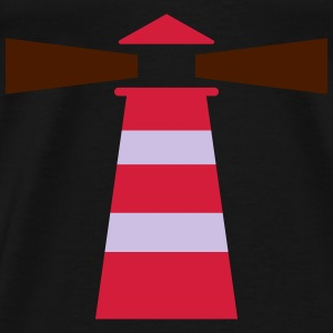 Leuchtturm, Lighthouse Tops - Men's Premium T-Shirt