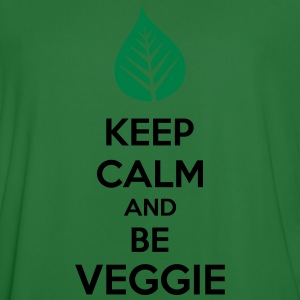 Keep Calm And Be Veggie Sweaters - Mannen voetbal shirt