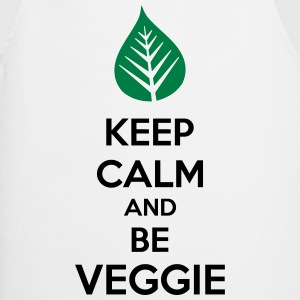 Keep Calm And Be Veggie Koszulki - Fartuch kuchenny