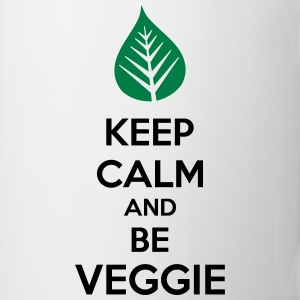 Keep Calm And Be Veggie Koszulki - Kubek