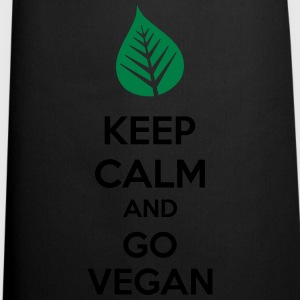 Keep Calm And Go Vegan Topy - Fartuch kuchenny