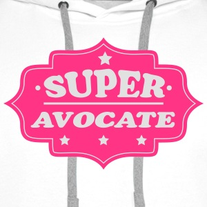 Super avocate 111 Tee shirts - Sweat-shirt à capuche Premium pour hommes