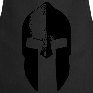 spartan warrior helm T-shirts - Keukenschort