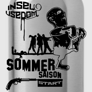 usedom zombieee - Trinkflasche