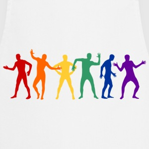 AFG Media LTD Rainbow Robot Dans T-shirts - Förkläde