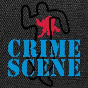 crime scene Tee shirts - Casquette snapback