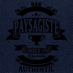 Paysagiste Tee shirts - Casquette snapback