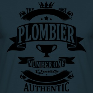 Plombier Sweat-shirts - T-shirt Homme
