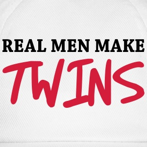 Real men make twins Tee shirts - Casquette classique