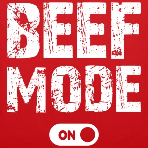 beef mode on - Stoffbeutel