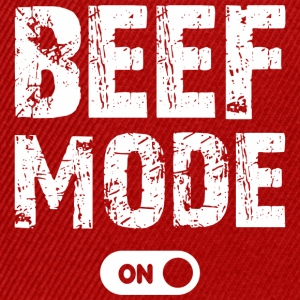 beef mode on - Snapback Cap