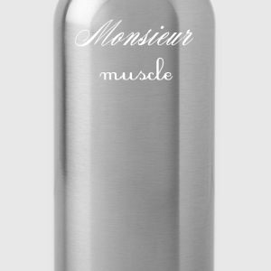 Monsieur Muscle T-Shirts - Water Bottle