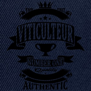Viticulteur Tee shirts - Casquette snapback