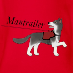 Mantra parter with leash Tee shirts - Body bébé bio manches courtes