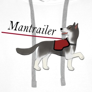Mantra parter with leash Tank Tops - Men's Premium Hoodie