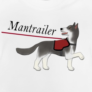 Mantra parter with leash T-shirts - Baby-T-shirt