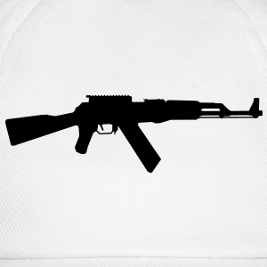 AK-47 assault rifle Shirts - Baseball Cap