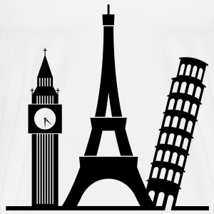 Europa / London / Paris / Pisa Pullover & Hoodies - Männer Premium T-Shirt