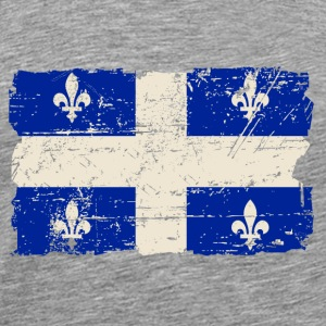 Québec  Flag - Canada - Vintage Look Tank Tops - Men's Premium T-Shirt