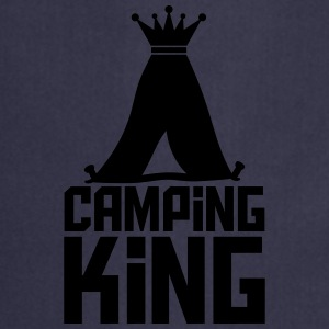 Camping Tent King King Logo T-Shirts - Cooking Apron
