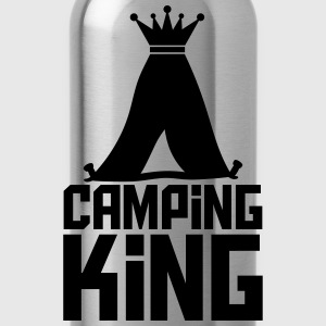 Camping Tent King King Logo T-Shirts - Water Bottle