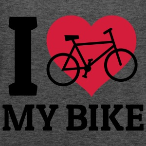 I love my bike amo la mia moto Felpe - Top da donna della marca Bella