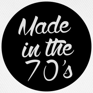 Made in the 70s Langarmshirts - Baseballkappe