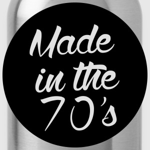 Made in the 70s Langarmshirts - Trinkflasche