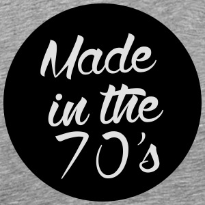 Made in the 70s Langarmshirts - Männer Premium T-Shirt
