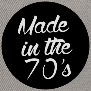 Made in the 70s Pullover & Hoodies - Snapback Cap