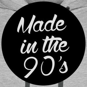 Made in the 90s T-Shirts - Männer Premium Hoodie