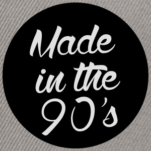 Made in the 90s T-Shirts - Snapback Cap