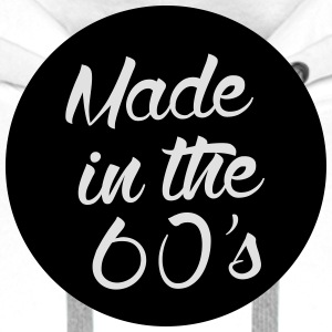 Made in the 60s  Aprons - Men's Premium Hoodie