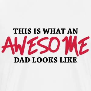 This is what an awesome dad looks like Shirts met lange mouwen - Mannen Premium T-shirt