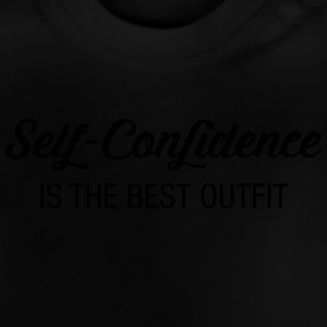 Self-Confidence Is The Best Outfit Skjorter - Baby-T-skjorte