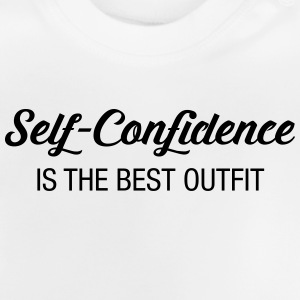 Self-Confidence Is The Best Outfit Tee shirts - T-shirt Bébé