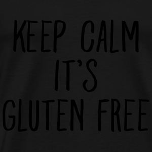 Keep Calm It's Gluten Free Tops - Men's Premium T-Shirt