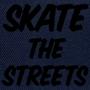 skate the streets T-shirts - Snapback Cap