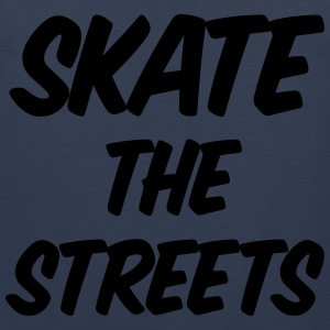 skate the streets T-shirts - Mannen Premium tank top
