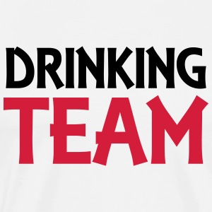 Drinking Team Topper - Premium T-skjorte for menn
