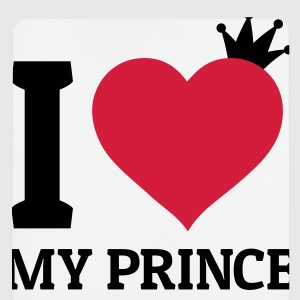 I love my Prince Pullover & Hoodies - Mousepad (Hochformat)