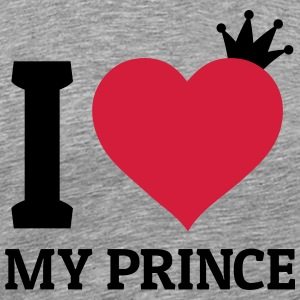 I love my Prince j'adore mon prince Sweat-shirts - T-shirt Premium Homme