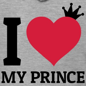 I love my Prince Hoodies & Sweatshirts - Men's Premium Hooded Jacket