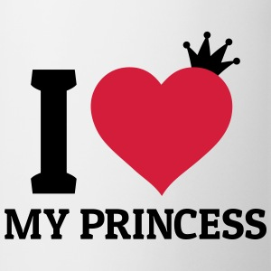 I love my Princess Bags & Backpacks - Mug