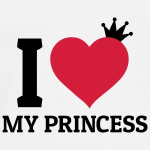 I love my Princess Bags & Backpacks - Men's Premium T-Shirt