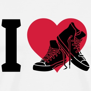 I love sneakers Tops - Men's Premium T-Shirt