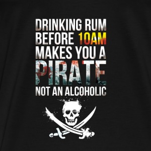 Rum Pirate Sportsklær - Premium T-skjorte for menn