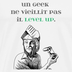 Geek level up - T-shirt Premium Homme