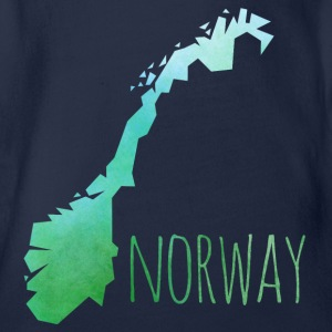 norway T-Shirts - Baby Bio-Kurzarm-Body
