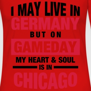 Germany - Chicago T-Shirts - Frauen Premium Langarmshirt